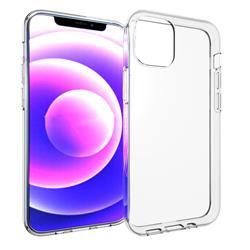 eSTUFF transparent mjukt skal till iPhone 13 Mini