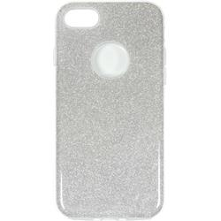 eSTUFF iPhone 7/8 Sparkle Case, Silver