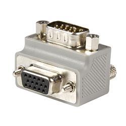 Rätvinklig VGA-till-VGA-kabeladapter Typ 2 - M/F