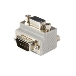 Rätvinklig DB9-till-DB9 seriell kabeladapter Typ 2 - M/F