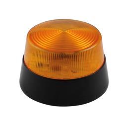 LED Blixtljus, 12 Volt, orange