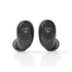 Nedis True Wireless in-ear hörlurar, Bluetooth, svarta