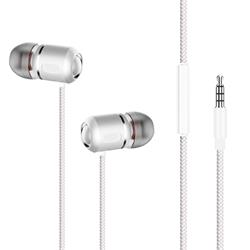Champion Headset In-ear metallic vitt