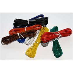 Kopplingstråd, 10 färger, 60 meter