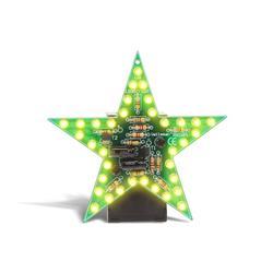 Byggsats blinkande gul stjärna - Velleman MK169Y