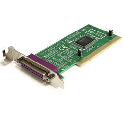 Lågprofils PCI parallell kortadapter med 1 port