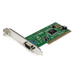 PCI RS232 seriell-kortadapter med 1 port och 16550 UART