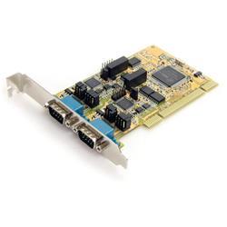 RS232/422/485 PCI seriell kortadapter med 2 portar och ESD-skydd