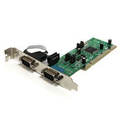 PCI-RS422/485 seriell kortadapter med 2 portar och 161050 UART