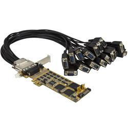 Seriellt kort i låg profil med 16 portar - RS232 - PCI Express