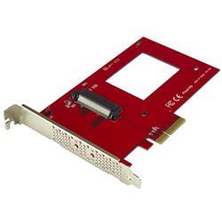 U.2 till PCIe-adapter för 2,5