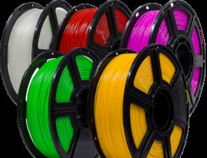 PLA-filament 1.75 mm<br>på 1 kg spole<br>i 17 fräscha färger!