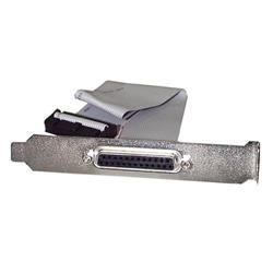 40cm DB25 parallell hona till IDC 25-stifts moderkortskontakt-täckplåt