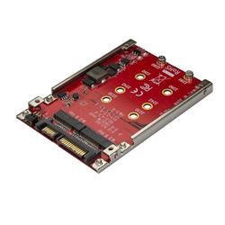 Dual-Slot M.2-enhet till SATA-adapter för 2,5