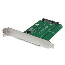 M.2 till SATA SSD-adapter – expansionsplats monterad