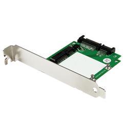 SATA till mSATA SSD-adapter med fästen i hel- och lågprofil – SATA till Mini SATA-konverteringskort