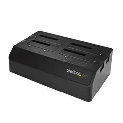 SATA/HDD dockningsstation med 4 fack - För 2.5