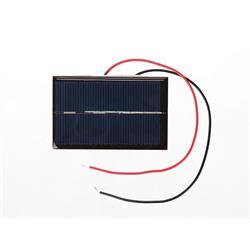 Solpanel för hobbybruk, 0.5 Volt, 800 mA
