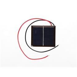 Solpanel för hobbybruk, 1 Volt, 200 mA