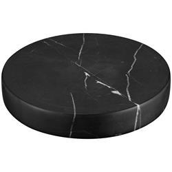 Sandberg Marble Stone Charger Black