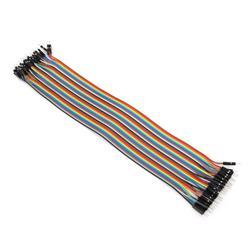 Kopplingstråd, sats med 10 st stift till stift, 18 cm