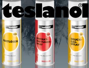 <strong>Teslanol -</strong><br>när du vill ha effektiva<br>produkter för rengöring