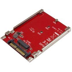 M.2 enhet till U.2 (SFF-8639) värdadapter för M.2 PCIe NVMe SSD-enheter