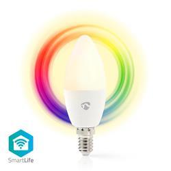 Nedis SmartLife LED-lampa RGB, WiFi-styrd, E14, 4.5 W