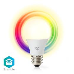 Nedis SmartLife LED-lampa RGB, WiFi-styrd, E27, 6 Watt