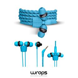 WRAPS Classic In-Ear Headphones, blå