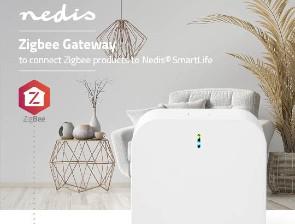 <b>Komplettera ditt Smarta hem</b><br> med Nedis SmartLife <br>Zigbee-sensorer